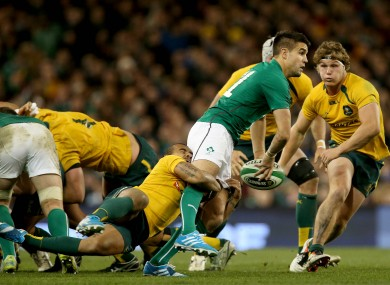 Conor Murray is in for a big test against Will Genia this weekend.