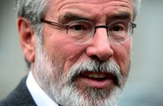 INM Chief believes Gerry Adams' 'gunpoint' comments were a 'veiled threat'