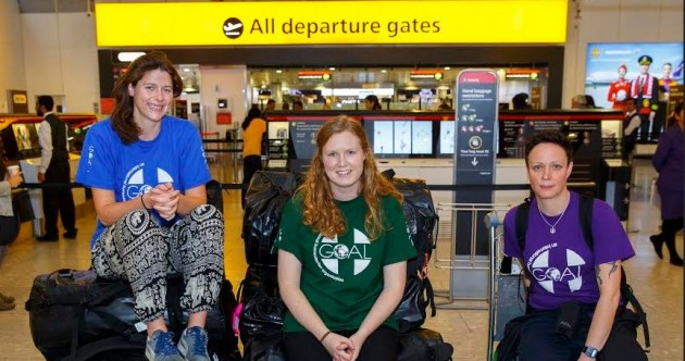 """These """"heroes"""" will man the first Irish-run Ebola treatment centre in West Africa"""