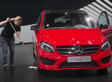 new Mercedes B Class car