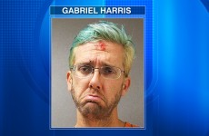 This drunken cyclist's pouty mugshot is almost poetic