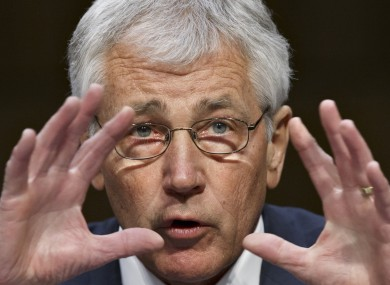 Chuck Hagel submitted his resignation letter to President Obama earlier