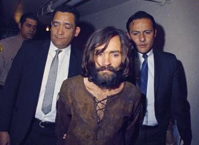 Manson (centre) in 1969.