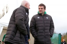 Foot injury rules Payne out of Ireland's clash with Wallabies