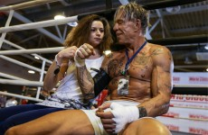 Hey Mickey you're so fine… 62-year old actor wins first boxing match in 20 years