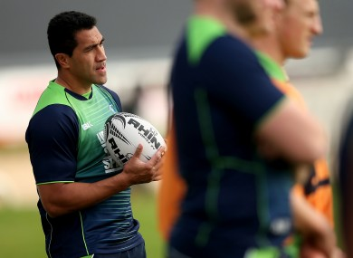 Muliaina has not yet featured on the pitch for Connacht.