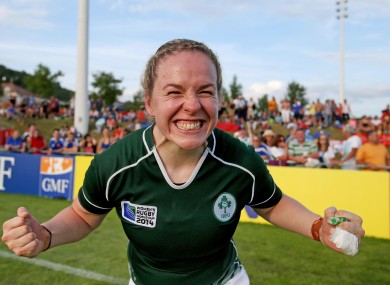 Niamh Briggs reflects the mood of the nation after the game.