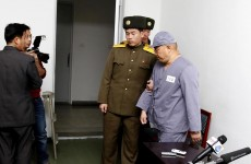 Released from years of 'hard labour': Two Americans imprisoned by North Korea are being allowed home