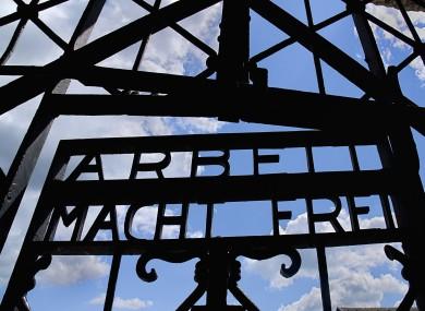 Dachau World War II Nazi Concentration Camp Memorial Site.