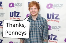 Ed Sheeran still wears Penneys boxers… it's The Dredge