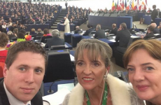 Irish MEPs were very excited about the Pope's visit this morning