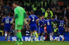 Chelsea ease West Brom aside to go 7 points clear