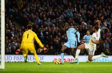 Toure rescues City again to maintain third place