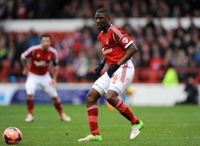 Moussi left Nottingham Forest in the summer.
