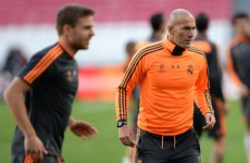 Thanks dad! Zinedine Zidane promotes his son up to the Real Madrid reserves