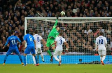 Jordan Henderson has scored his first goal in an England shirt but it was at the wrong end