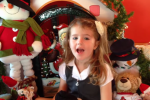 Listen to this little girl's special song about the Toy Show