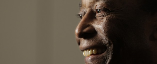 Pele, pictured earlier this year.