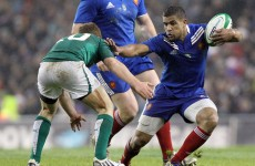 South Africa native Spedding one of three debutants for France