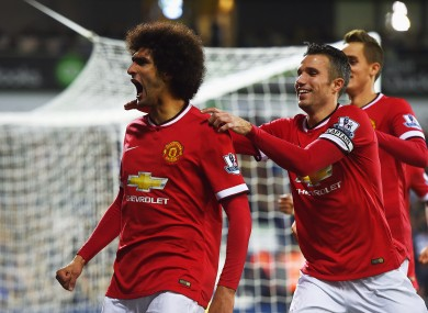 Fellaini has performed well in the last two games.