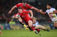 We felt that Clermont beat us up a bit – Munster's Ian Keatley