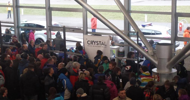 Irish skiers 'threatened by police' as airport ordeal enters second day