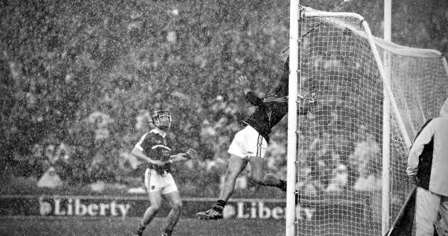 The story behind that brilliant picture of Kilkenny keeper David Herity in the rain