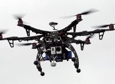A rescue drone.
