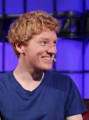 Patrick Collison at the 2013 Web Summit.