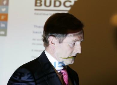 Taoiseach Enda Kenny at the launch of an online tax calculator in Dublin.