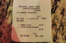 This Dublin bar's 'hipster surcharge' should definitely be a real thing