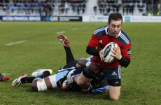Munster sunk in Glasgow after letting a nine-point half-time lead slip