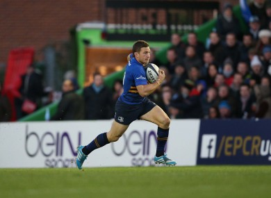 Gopperth Leinster's career looks set to end after this season.