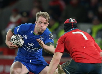 Fitzgerald started at 13 in Leinster's defeat at Thomond Park.