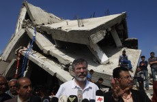 Here's why Gerry Adams is off to the Middle East tomorrow