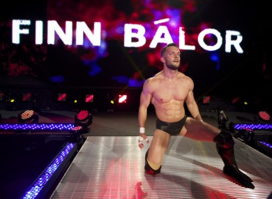 Fergal Devitt wrestles under the ring name of Finn Bálor in WWE.