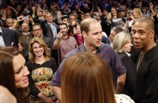 Will and Kate met Beyoncé and Jay Z