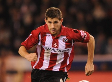 Ched Evans during his time at Sheffield United