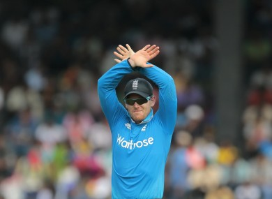 Morgan previously represented Ireland in cricket.