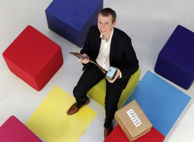Eamon Keane from Xpreso, Ireland's Best Young Entrepreneur