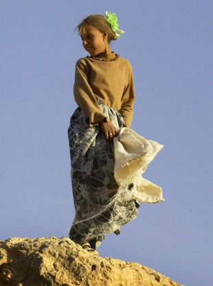 A Yezidi girl, photographed in Iraq in 2005