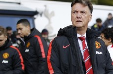 Van Gaal expected fans to 'rise up' against him after poor start