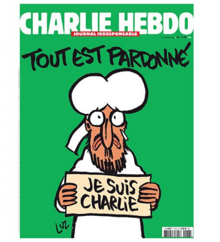 Fake Shootings and Other False Flags Charlie-hebdo-2-454x500