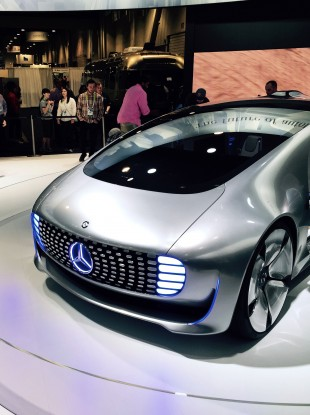 Mercedes-Benz concept F 015 driverless saloon at the.