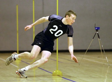 Cork's Damien Cahalane tries out the facilities in the DCU sports hall - but are they the best in the country?
