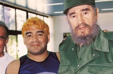 Fidel Castro 'proves' he's alive… by writing to Maradona (seriously)