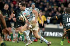 Jamie Roberts' highlights reel from the weekend is hugely impressive