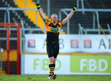 Kieran Donaghy is celebrating another award this morning.