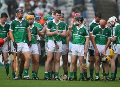The Limerick hurling team before last August's All-Ireland semi-final against Kilkenny.