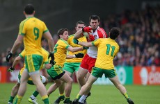 McHugh starts for Donegal, McCurry and Cavanagh back for Tyrone, Lynch leads Derry